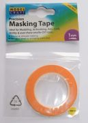 Modelcraft 1mm masking tape  18m length  Two pack
